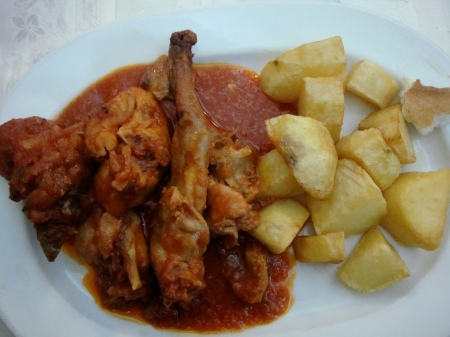 Rabbit in Tomato Sauce
