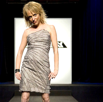 Annie Wharton on Project Runway