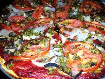 Luigi's Veggie Pizza