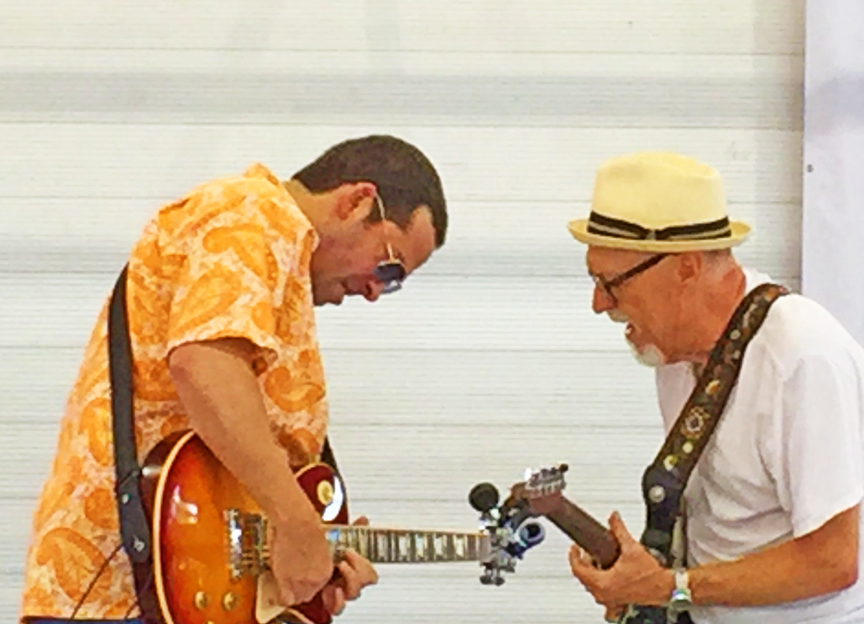 Albert Castiglia and Sauce Boss gettin the Big Dog